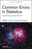 Common Errors in Statistics (and How to Avoid Them) (eBook, PDF)