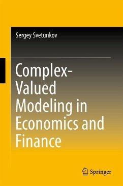 Complex-Valued Modeling in Economics and Finance (eBook, PDF) - Svetunkov, Sergey