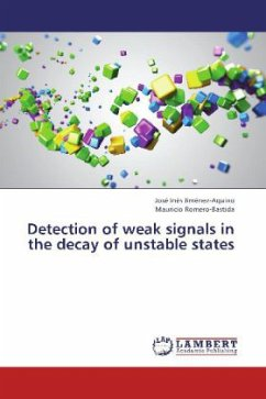Detection of weak signals in the decay of unstable states