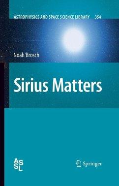 Sirius Matters (eBook, PDF) - Brosch, Noah