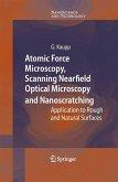 Atomic Force Microscopy, Scanning Nearfield Optical Microscopy and Nanoscratching (eBook, PDF)