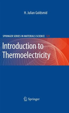 Introduction to Thermoelectricity (eBook, PDF) - Goldsmid, H. Julian