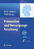 Prävention und Versorgungsforschung (eBook, PDF)