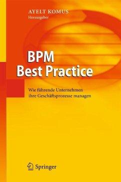 BPM Best Practice (eBook, PDF)