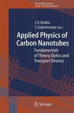 Applied Physics of Carbon Nanotubes (eBook, PDF)