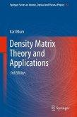 Density Matrix Theory and Applications (eBook, PDF)