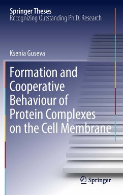 Formation and Cooperative Behaviour of Protein Complexes on the Cell Membrane (eBook, PDF) - Guseva, Ksenia