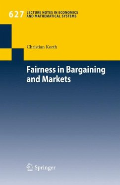 Fairness in Bargaining and Markets (eBook, PDF) - Korth, Christian