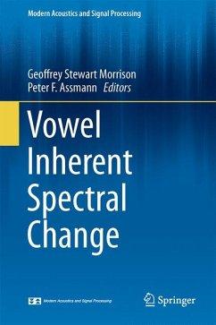 Vowel Inherent Spectral Change (eBook, PDF)
