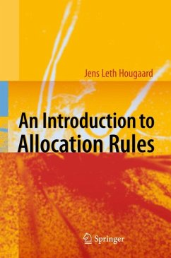 An Introduction to Allocation Rules (eBook, PDF) - Hougaard, Jens Leth