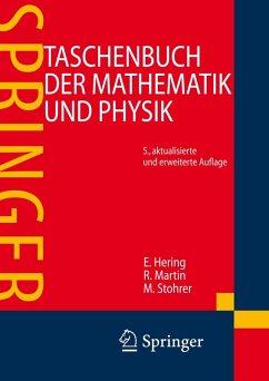 Taschenbuch der Mathematik und Physik (eBook, PDF) - Hering, Ekbert; Martin, Rolf; Stohrer, Martin