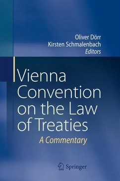 Vienna Convention on the Law of Treaties (eBook, PDF)