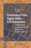Continuous-Time Sigma-Delta A/D Conversion (eBook, PDF)