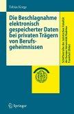 Die Beschlagnahme elektronisch gespeicherter Daten bei privaten Trägern von Berufsgeheimnissen (eBook, PDF)