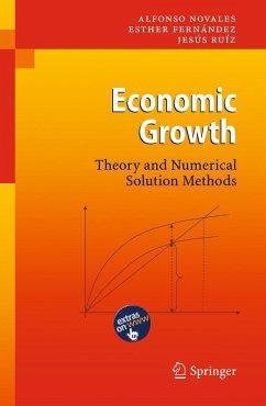 Economic Growth (eBook, PDF) - Novales, Alfonso; Fernández, Esther; Ruíz, Jesús