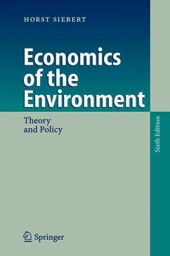 Economics of the Environment (eBook, PDF) - Siebert, Horst