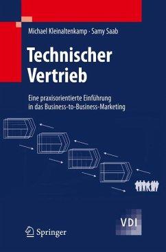 Technischer Vertrieb (eBook, PDF) - Kleinaltenkamp, Michael; Saab, Samy