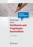 Testtheorie und Fragebogenkonstruktion (eBook, PDF)