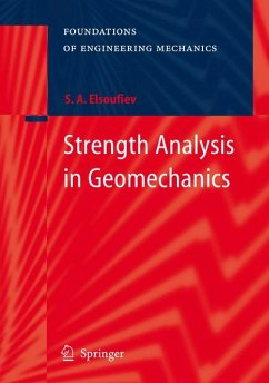 Strength Analysis in Geomechanics (eBook, PDF) - Elsoufiev, Serguey A.
