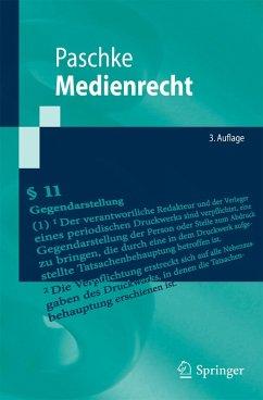 Medienrecht (eBook, PDF) - Paschke, Marian