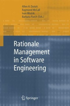 Rationale Management in Software Engineering (eBook, PDF)