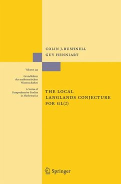The Local Langlands Conjecture for GL(2) (eBook, PDF) - Bushnell, Colin J.; Henniart, Guy