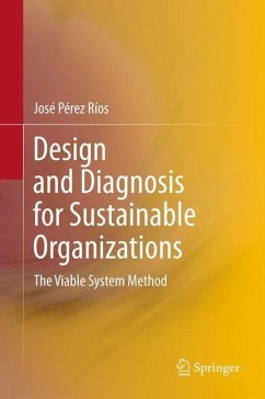 Design and Diagnosis for Sustainable Organizations (eBook, PDF) - Pérez Ríos, José M.