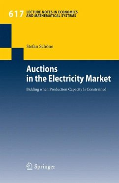 Auctions in the Electricity Market (eBook, PDF) - Schöne, Stefan