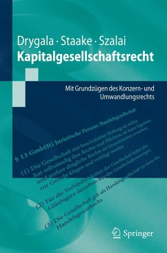 Kapitalgesellschaftsrecht (eBook, PDF) - Drygala, Tim; Staake, Marco; Szalai, Stephan