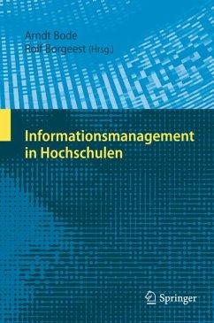 Informationsmanagement in Hochschulen (eBook, PDF)