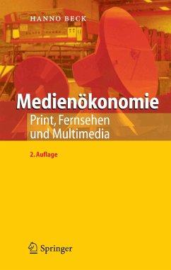 Medienökonomie (eBook, PDF) - Beck, Hanno
