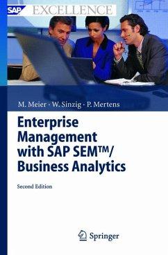 Enterprise Management with SAP SEM(TM)/Business Analytics (eBook, PDF) - Sinzig, Werner; Mertens, Peter; Meier, Marco