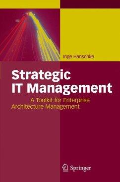 Strategic IT Management (eBook, PDF) - Hanschke, Inge