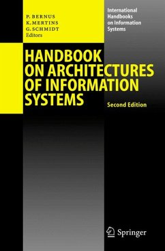 Handbook on Architectures of Information Systems (eBook, PDF)