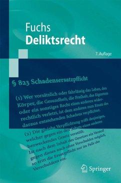 Deliktsrecht (eBook, PDF) - Fuchs, Maximilian