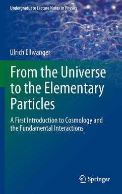 From the Universe to the Elementary Particles (eBook, PDF) - Ellwanger, Ulrich