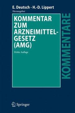 Kommentar zum Arzneimittelgesetz (AMG) (eBook, PDF)