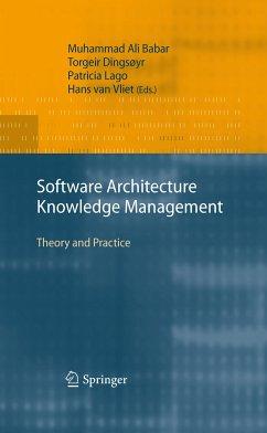Software Architecture Knowledge Management (eBook, PDF)