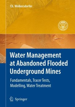 Water Management at Abandoned Flooded Underground Mines (eBook, PDF) - Wolkersdorfer, Christian