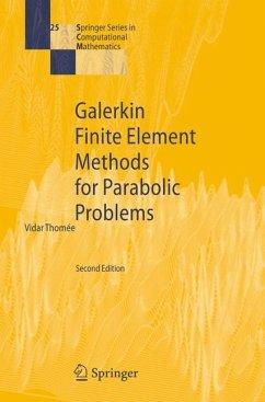 Galerkin Finite Element Methods for Parabolic Problems (eBook, PDF) - Thomee, Vidar