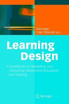 Learning Design (eBook, PDF)
