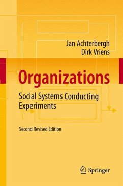 Organizations (eBook, PDF) - Vriens, Dirk; Achterbergh, Jan