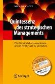 Quintessenz des strategischen Managements (eBook, PDF)