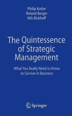 The Quintessence of Strategic Management (eBook, PDF)