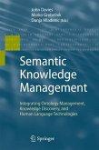 Semantic Knowledge Management (eBook, PDF)