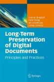 Long-Term Preservation of Digital Documents (eBook, PDF)