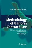 Methodology of Uniform Contract Law (eBook, PDF)
