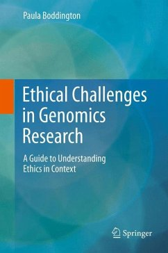 Ethical Challenges in Genomics Research (eBook, PDF) - Boddington, Paula