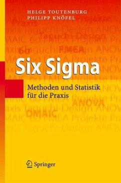 Six Sigma (eBook, PDF) - Toutenburg, Helge; Knofel, Philipp