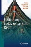 Einführung in das koreanische Recht (eBook, PDF)